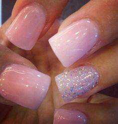 Love that clear pink (: