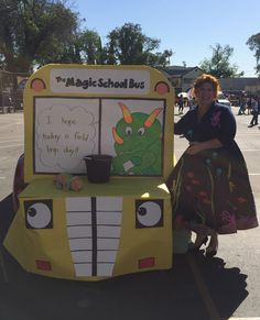 Magic School Bus - trunk or treat