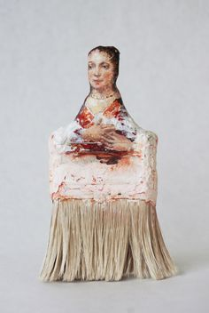 Old paintbrushes become the canvas in these creative portraits by Chinese American artist Rebecca Szeto. The ongoing series (which started back in 1999!) highlights the attention Szeto pays to the details of each individual brush, coming up with a unique character … Continue reading →