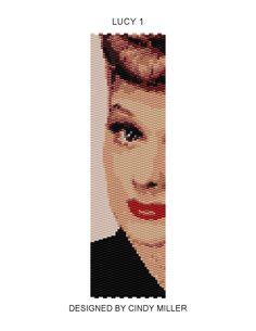 Lucy 1 Peyote Bracelet Pattern Buy 2 by JewelryPatternsPlus