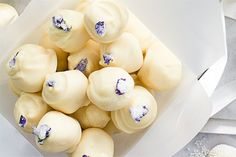 Vodka and lemon truffles – Recipes – Bite