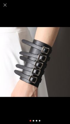 Love Leather cuff