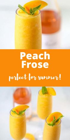 May I suggest this refreshing peach frose?? Use your favorite rose wine to make this sweet, tangy, and perfect cocktail for humid summer days. #aclassictwist #peachfrose #summerdrinks #summercocktails Easy No Bake Desserts, Homemade Desserts, Best Dessert Recipes, Grilling Recipes, Grilling Ideas, Soda Recipe, Refreshing Summer Drinks, Trifle Pudding, Homemade Snickers