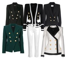 """""""Untitled #58"""" by sumely on Polyvore featuring Balmain, Pierre Balmain and Joseph"""