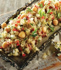 """Deliciosa y nutritiva: """"Ensalada de quinoa"""""""