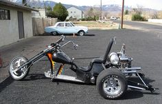 I'll take the Trike and the old Falcon in the background.