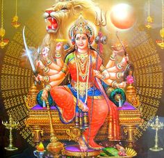 🙏🏽🕉Happy Chaitra Navratri to all. May the Divine Goddess of the Universe, Mother of all worlds shower all with her divine blessings 🙏🏽🕉🔱 ❤️ Jai Shri Durga Mata Ki ! Divine Goddess, Kali Goddess, Mother Goddess, Saraswati Goddess, Maa Durga Image, Durga Maa, Hanuman, Maa Image, Ganesha