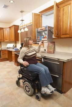 1000 images about cabinets for elderly or disabled persons on pinterest closet rod shelving Kitchen design for elderly