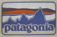 Patagonia Sticker Decal - 1980s for Window #Patagonia
