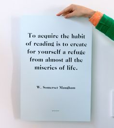 Book/Shop Habit of Reading Print, $18
