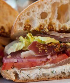 Ham & cheese sandwich at Rustic Bakery | Marin Tastemaker Lunch Pick | Marin Magazine, foodies, marin county eats, Marin Magazine, good food, recipes, delicious, Marin County restaurants