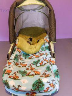 Huszárkriszta....kreatív textilvilága....: Babakocsiba bundazsák