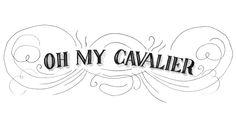 Oh My Cavalier (illustrator Julianna Swaney's blog)