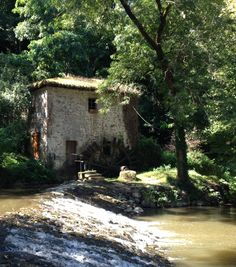 Old mill at Confolens