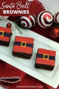 You gonna love this chewy and delicious Santa Belt Inspired Brownies. Great for holiday parties and treats for family and friends. Add this easy recipe on your Christmas food list. #brownies #cookies #christmastreats #christmasbrownies #christmaspartyfood #christmasparty #browniesrecipe #christmastreats #christmasideas #funfoodideas #christmas #brownierecipes #recipes #gorgeousfood Christmas Food List, Christmas Treats, Christmas Eve, Christmas Decor, Kids Party Snacks, Kids Party Themes, Party Ideas, Lego Batman Party, Christmas Brownies