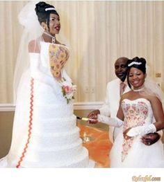 Weird Wedding Cake