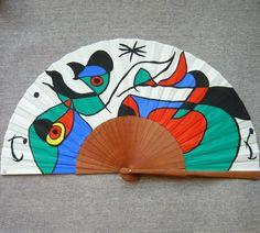 Gustav Klimt, Hand Fan, Beach Mat, Outdoor Blanket, Hand Fans, Artworks, Paintings, Hand Painted Fabric, Painted Fan