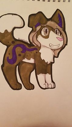 Just a random drawing! Art by @AnimalzRule pls repin with credit!