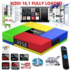 59.99$  Watch here - http://ali5gq.worldwells.pw/go.php?t=32769244799 - Free shipping! T95KPRO 2G + 16G S912 Smart 1000M Android 6.0 Arabic iptv BOX Octa Core KODI 16.1 HEVC 4K Media Player 59.99$