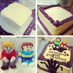 Horrid Henry cake, love it!