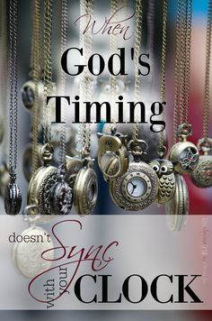 "Have you ever begged God to speed up His timing — to give you something different than what you have at the time? Have you ever questioned if He was just leaving you in the dark? ~ If so, come on over and read about one girl's struggle with the ""waiting game"" and what she learned about God's faithfulness. ~ You'll be encouraged in your own season of waiting."
