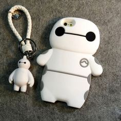 Cool! Cute Fatty Robot Pendant  Silicone IPhone 4s/5/5s/6/6p/6s/6sp Cases just $17.99 from ByGoods.com! I can't wait to get it!