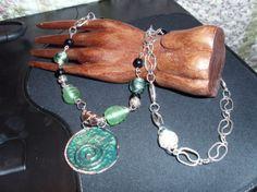 Handmade Necklace/Earrings Set by MyCynthiasJewelry on Etsy, $20.00