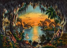 Realm of the Faerie. Currier & Ives, New York, NY, 1867.