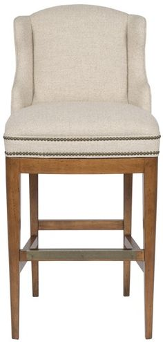 Vanguard Furniture - Our Products - V61-BS Wing Bar Stool on Modern base