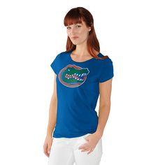 Women's Florida Gators End Zone Tee, Blue