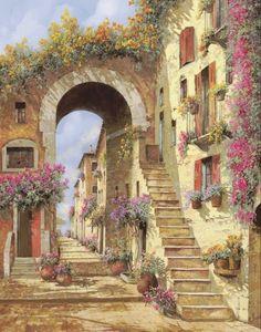 Paintings I Love, Beautiful Paintings, Anime Poses, Gustav Klimt, Art And Architecture, Oeuvre D'art, Landscape Paintings, Watercolor Art, Fine Art America