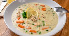 Chicken soup with tarragon Turkey Recipes, Soup Recipes, Cooking Recipes, Dessert Recipes, Croatian Recipes, Hungarian Recipes, Hungarian Cuisine, Hungarian Food, Pasta