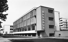 """""""This is why we will set up a new European Bauhaus — a co-creation space where architects, artists, students, engineers, designers work together to make that happen,"""" sa"""" Bauhaus Interior, Architecture Bauhaus, Art And Architecture, Classical Architecture, Design Bauhaus, Bauhaus Style, Walter Gropius, Bauhaus Building, International Typographic Style"""