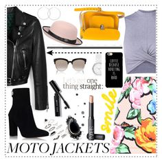 """""""Untitled #192"""" by gina-cremont ❤ liked on Polyvore featuring Mulberry, Bobbi Brown Cosmetics, Topshop, Love Moschino, N'Damus, Gianvito Rossi, Pilot, Christian Dior, NARS Cosmetics and DKNY"""