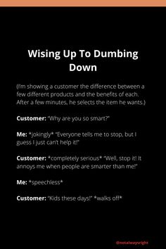 #funnystories #notalwaysright #customerstories #funnycustomerstories #techsupportstories #techsupport #reallifestories #funnycompilationstories #reallifestories Customer Service Jobs, Customer Stories, Not Always Right, Wise Up, Working In Retail, Stop It, He Wants, Funny Stories, Annoyed