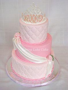 Princess Cake revisited by springlakecake, Pretty Cakes, Cute Cakes, Beautiful Cakes, Amazing Cakes, Bolo Fack, Birthday Cake Girls, Birthday Cakes, Girl Cakes, Fancy Cakes
