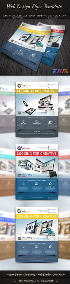 Seo  Web Flyer Template  Template Flyers And HttpWww