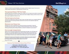When it comes to customizability, exclusivity and the highest level of service at Walt Disney World Resort, nothing tops a Private Tour. Request your vacation quote today!! www.wishwithcrystal.com #DisneySide #WishWithCrystal