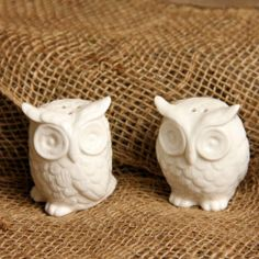 "Owl Salt and Pepper Shakers Home Decor by Creative Co-Op. $8.00. Retro style owl salt and pepper shakers. 2.75""H. This set of owl salt and pepper shakers will add charm to any tabletop. 2.75""H."