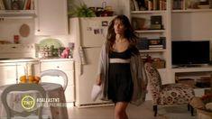 Jordana Brewster Lingerie - Forget flannel pajamas, Jordana Brewster keeps things saucy on 'Dallas' in a black teddy.
