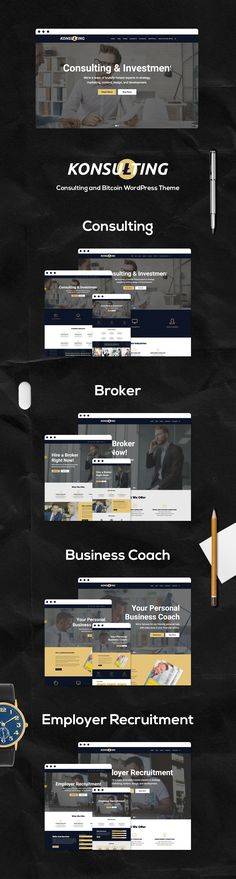 Buy Konsulting - Consulting & Bitcoin WordPress Theme by modeltheme on ThemeForest. Want to create incredible Investments and Consulting WordPress website? Sick of testing and evaluating themes? Wordpress Premium, Construction Theme, Video Background, Jobs Apps, Website Themes, Cool Websites, Website Template, Cryptocurrency, Wordpress Theme