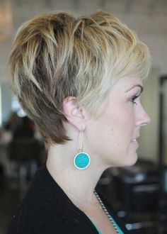 pixie haircuts front and back views | Side and back view of pixie haircuts