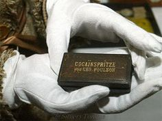 Empress Elisabeth's cocaine syringe is now kept at the museum. It was part of her travel first aid kit. Cocaine was widely used in the century as a sedative and anti-depressant, said the museum's curator, Katrin Unterreiner. Kaiser Franz Josef, Franz Josef I, Empress Sissi, The Empress, Romy Schneider, Austria, Elisabeth I, Shattered Dreams, Princess Elizabeth