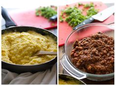 Mexican Polenta Pie- I don't eat pork so I would like to try this with shredded chicken.