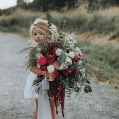 "2,368 Likes, 19 Comments - Boho Wedding Ideas (@huesofvintage) on Instagram: ""Darling, would you hold my bouquet? Hells yeah!! Was wondering when you were going to ask! :…"""