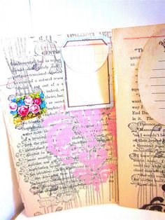 To try - art journal inspiration.