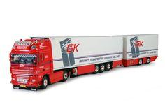 Geranco - Tekno schaalmodellen vrachtwagens