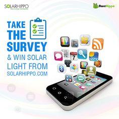Chance to win Solar Light from Solarhippo.com