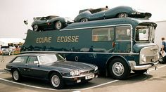 The Ecurie Ecosse Transporter - Classic Driver - MAGAZINE - features
