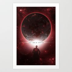 Last Son Of Krypton Art Print by Digital Theory - $15.00